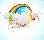 Rainbow design — Stock Vector