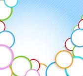 Background with circles — Stockvektor