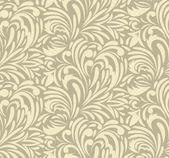 シームレスな渦巻き模様のパターン — ストックベクタ