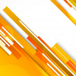 Background with orange lines — Stock Vector #13733326