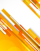 Background with orange lines — Vector de stock