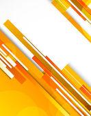 Fundo com linhas laranja — Vetorial Stock