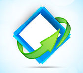 Abstracte pictogram — Stockvector