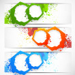 Set of grunge banners — Stock Vector #22334689