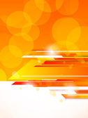 Fundo abstrato tech laranja — Vetorial Stock