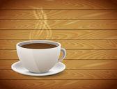 Xícara de café — Vetorial Stock