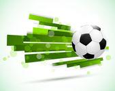 Soccer background — Stock Vector