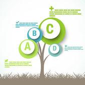 Infographic design — Stock Vector