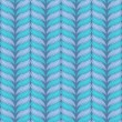 Vector seamless knitting pattern. — Stock Vector