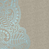 Vector ornamental background. — Stock vektor