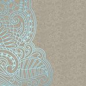 Vektor-ornamentalen hintergrund. — Stockvektor