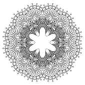Vector ornamento redondo. — Vetorial Stock