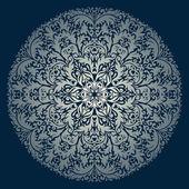 Vektor runde ornament. — Stockvektor