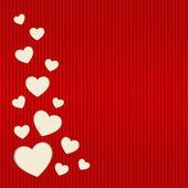 Vector de tarjeta del día de san valentín. — Vector de stock