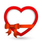 Vector heart. — Stockvektor