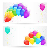 Vector balloons. — Stock Vector
