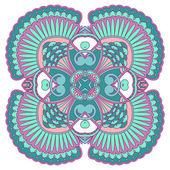 вектор круглый орнамент. — Cтоковый вектор