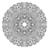 Vector ronde ornament. — Stockvector