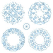 Vector round ornaments. — Stock Vector