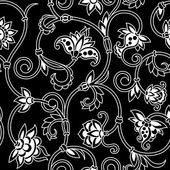 Vector ornamental seamless background. — Stock Vector