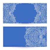 Vector templates floral pattern graphic designs. — Vector de stock