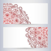 Vector templates floral pattern graphic designs.  — Stok Vektör