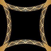Ornamento di vettore d'oro. — Vettoriale Stock