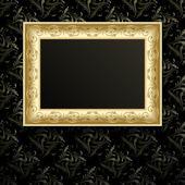 Vektorové rámeček obrázku na zdi. — Stock vektor