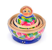 Open matreshka doll — Foto Stock