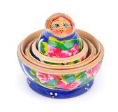 Open matreshka doll — Stock fotografie