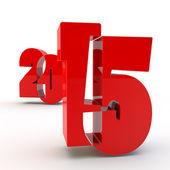 Red figures 2015 — Zdjęcie stockowe