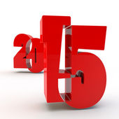 Red figures 2015 — Stockfoto