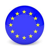Flag of Europe — Stock Photo