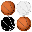 Basketball ball set — Stock Vector #12716718
