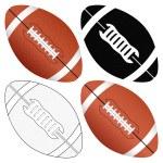 Football ball set — Stock Vector #12716720
