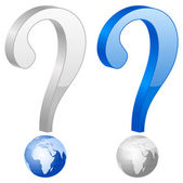 Vraag symbool — Stockvector