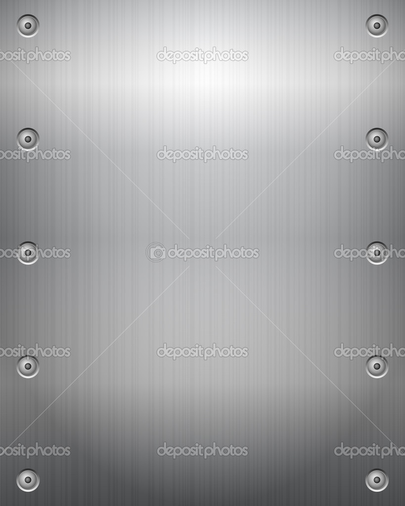 Metal texture background. Vector illustration. — Stock Vector #12858041
