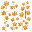 Autumn leafs set — Stock Vector