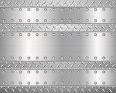 Diament tle metalowych i płyt 2 — Wektor stockowy