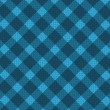 Blue realistic fabric pattern — Stock Vector #14683219
