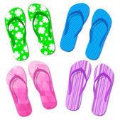 Flip flop sandals — Stock Vector