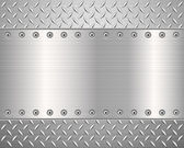 Diamond metal background 2 — Vector de stock