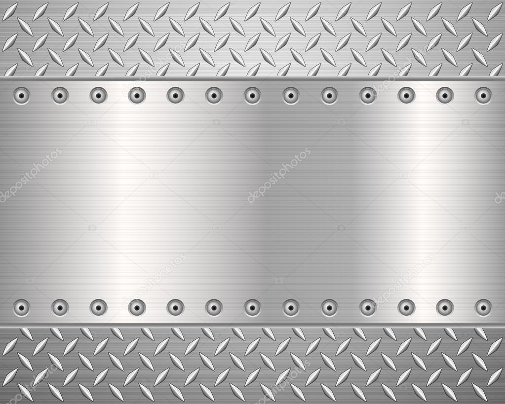 diamond plate metallic border - photo #11