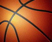 Basketball ball background — Stock Vector