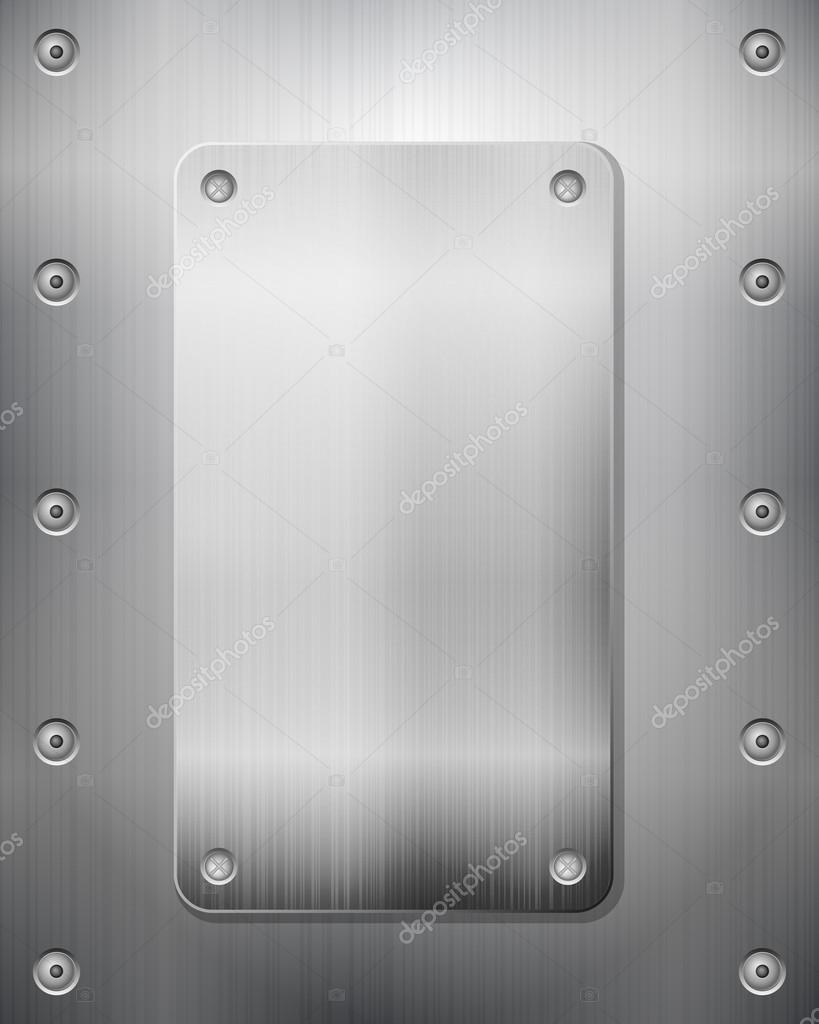 Pattern of metal texture background. Vector illustration. — Stock Vector #18352399
