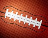 American football ball background — Stock Vector