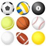 Постер, плакат: Sport ball