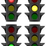 Traffic light — Stock Vector #21186639