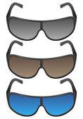 Gafas de sol — Vector de stock