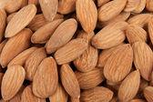 Background almonds — Stock Photo